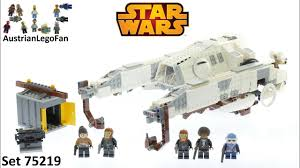 <b>Lego Star Wars 75219</b> Imperial AT-Hauler - Lego Speed Build Review