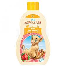 <b>Пенка для ванны Disney</b> Король Лев Сладкая клубника (410 мл ...