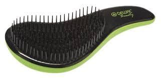 DEWAL <b>Щетка массажная для</b> легкого расчесывания волос мини ...