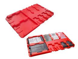 <b>Футляр REFI Holder SD</b> / microSD SIM Red | www.gt-a.ru