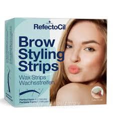 Купить RefectoCil <b>Восковые полоски для придания</b> формы бровей