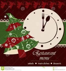 christmas menu template royalty stock image image 33450516 template of a christmas menu stock image