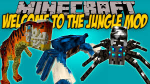 Image result for jungle mod 1.7.10
