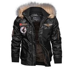passionate lone <b>Big Mens</b> Faux Leather Warm Velvet Jacket <b>Plus</b> ...