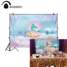 Online Shop <b>Allenjoy photo background</b> glitter <b>mermaid</b> underwater ...