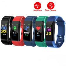 ID115Plus <b>BT4</b>.<b>0 Smart Watch</b> Wristband Bracelet Pedometer Sport ...