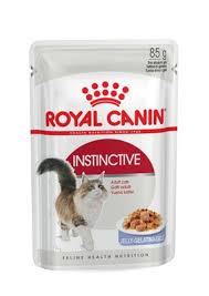 <b>Royal Canin</b> кусочки в желе для кошек 1-10 лет, <b>Instinctive</b> in Jelly