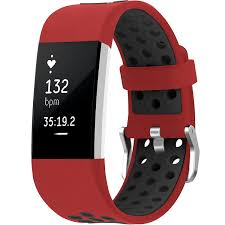 SKYLET Compatible with Fitbit Charge 2 <b>Bands</b> Breathable Soft ...