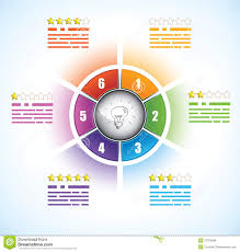 buiness diagram template with six  s royalty free stock photos    buiness diagram template   six parts