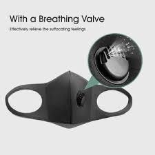 <b>Sponge Anti-haze Face</b> Mask Washable Masks with Breathing Valve ...
