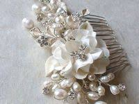 335 Best Bridal comb images in 2020 | Bridal comb, Hair <b>jewelry</b> ...