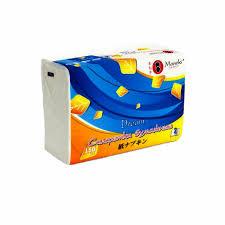 Купить <b>салфетки бумажные Maneki</b> Dream белые 2 слоя (150 шт ...