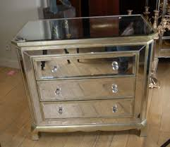 you art deco mirrored furniture
