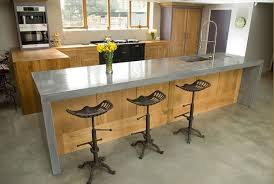 troweled micro cement kitchen countertop wooden kitchen with concrete worktop from lovewoodfurniturecouk