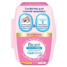 <b>Салфетки для снятия макияжа</b> Biore | Отзывы покупателей