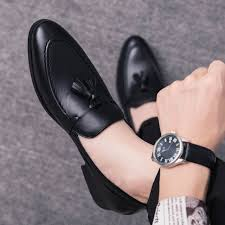 Online Shop <b>men</b> dress business <b>shoes</b> pointed toe <b>luxury brand</b> ...