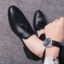 Online Shop <b>men</b> dress business shoes pointed toe <b>luxury brand</b> ...