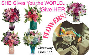 TELEFLORA Mother's Day Giveaway: $75 Teleflora Gift Card