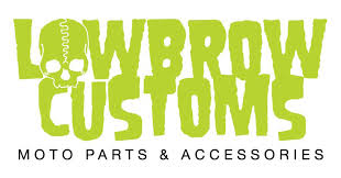 Lowbrow Customs 3/4 <b>inch</b> ID x <b>7/8 inch</b> Long <b>Aluminum</b> Motorcycle ...