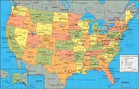 United States <b>Map</b> and Satellite Image