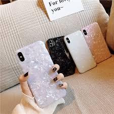 <b>ELALA</b> Glossy <b>Marble Case For</b> iphone 6 7 <b>Case</b> Funny Pattern ...