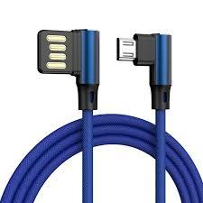 90 Degree 3A <b>Magnetic Cable</b> Micro <b>USB Cable</b> Type C <b>Fast</b> ...