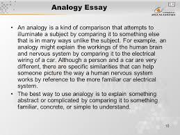 analogy essay sample analogy essay sample wwwgxart analogy essay  analogy essay sample www gxart orgmodule introduction matakuliah g writing iv tahun analogy essay an analogy