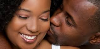 Image result for Image of man kissing black womans cheek
