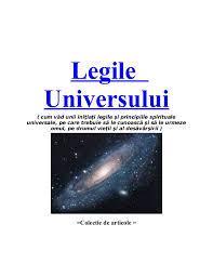Imagini pentru 11 Legi ale Universului