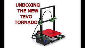 BRAND <b>NEW</b> TEVO <b>TORNADO 3D PRINTER</b> - UNBOXING - YouTube