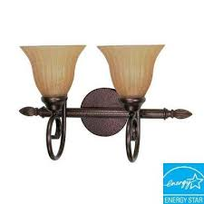 concord 2 light copper bronze bath vanity light bathroom vanity lighting bathroom