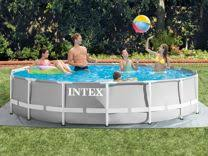 <b>бассейн intex каркасный</b> 457 х 122 см с фильтром - Авито ...