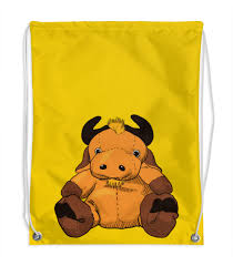 <b>Рюкзак</b>-мешок с полной запечаткой Игрушка бычок. #2928750 ...