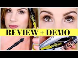 NEW! <b>Wet n Wild LASH RENEGADE</b> Mascara REVIEW + DEMO ...