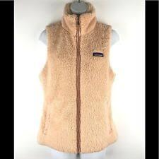 Флисовая бежевая <b>Patagonia</b> пальто, куртки и жилеты для женский