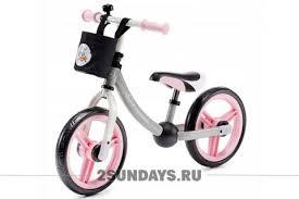 Детский <b>беговел Kinderkraft Balance bike</b> 2way next light pink с ...