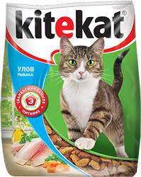 Сухой корм для кошек <b>Kitekat Улов Рыбака</b>
