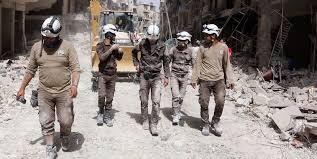 Risultati immagini per caschi bianchi siria
