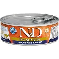 <b>Консервы Farmina N&D Adult</b> Cat GF Pumpkin Lamb, & Blueberry ...