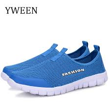 <b>YWEEN Men Shoes</b> Summer <b>Sneakers</b> Breathable Fashion Mesh ...