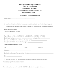 credit card authorization form template word thegreenslate com it