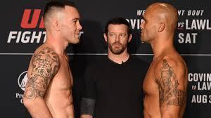 UFC on ESPN 5 start time-- Colby Covington vs. Robbie Lawler ...