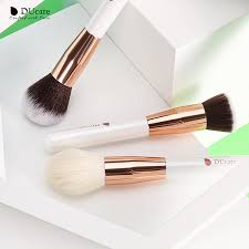<b>DUcare 15PCS Makeup brushes</b> set brushes Pearl White ...