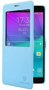 <b>Чехол</b>-<b>книжка Nillkin Fresh</b> для Samsung Galaxy Note 4 Blue