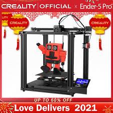 <b>CREALITY 3D Printer New</b> Ender 5 Pro Silent Board Pre installed ...