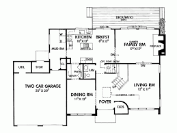 Design contemporary story house plans story house plans w garage from drummondhouseplans