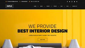 best furniture websites design. duplex u2013 interior design html5 template best furniture websites m