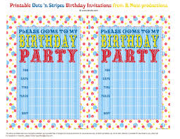 dots n stripes printable party invitations decorations printable dots n stripes birthday party invitations by b nute productions