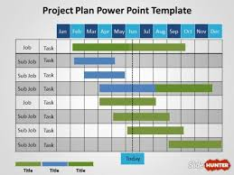 free project plan powerpoint templategantt project plan diagram for powerpoint