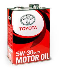 08880-83944 <b>Моторное масло TOYOTA MOTOR OIL</b> SN/CF 5W-30 ...